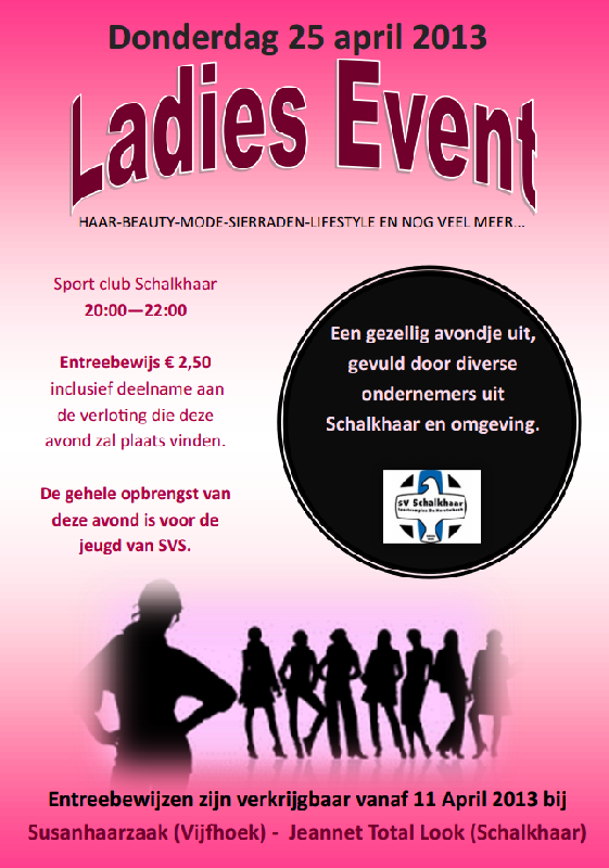ladiesnevent 25-04-2013